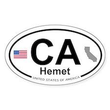 Hemet Decal
