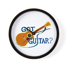 Got Guitar? Wall Clock