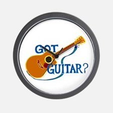 Got Guitar? Wall Clock