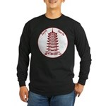 Chinese Takeout Box Long Sleeve Dark T-Shirt