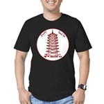 Chinese Takeout Box Men's Fitted T-Shirt (dark)