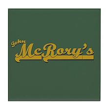 Leverage McRory's Pub Tile Coaster