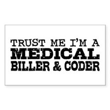 Medical Biller and Coder Decal