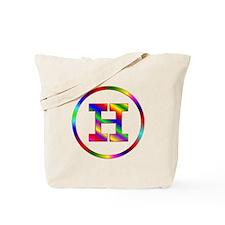 Letter H Tote Bag