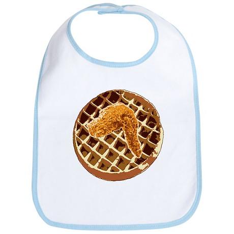 Chicken and Waffle Bib