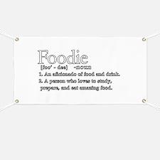 Foodie Defined Banner