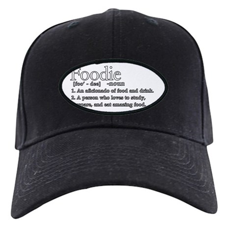 Foodie Defined Black Cap