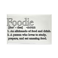 Foodie Defined Rectangle Magnet
