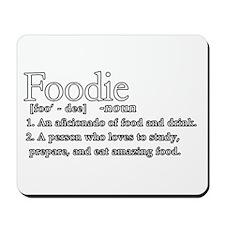 Foodie Defined Mousepad