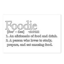 Foodie Defined Postcards (Package of 8)