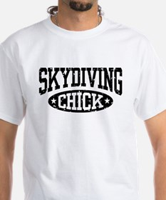 Skydiving Chick Shirt