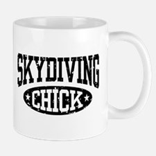 Skydiving Chick Small Small Mug