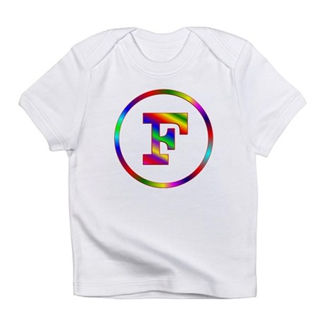 Letter F Infant T-Shirt