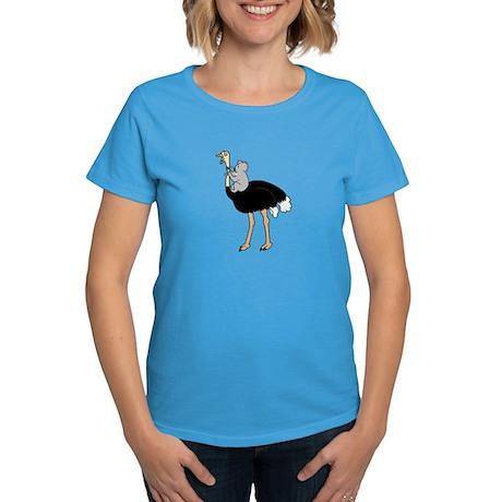 Koala vs Ostrich Women's Shirt (dark colors)