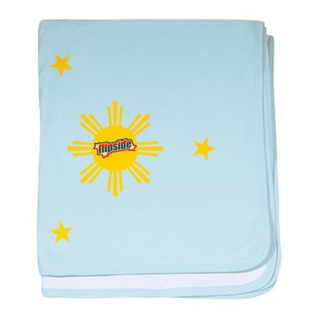 Flipside Sun and Stars baby blanket