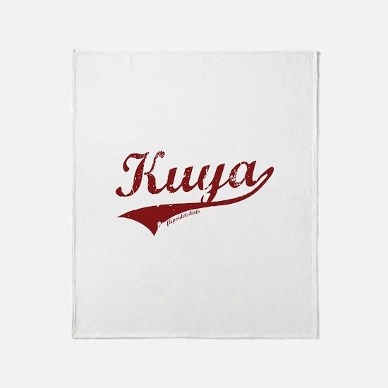 Kuya Throw Blanket