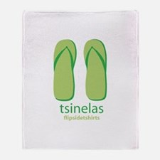 Big Tsinelas Throw Blanket