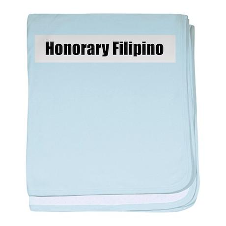 Honorary Filipino baby blanket