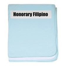 Honorary Filipino baby blanket