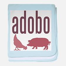 Adobo baby blanket