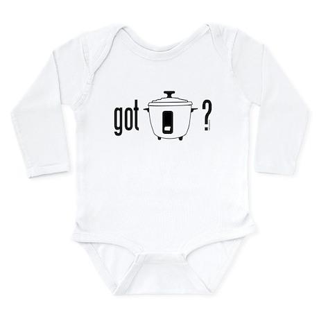 got rice (cooker) Long Sleeve Infant Bodysuit