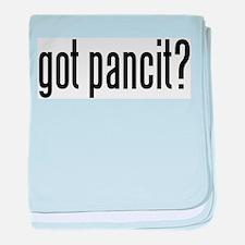 got pancit? baby blanket