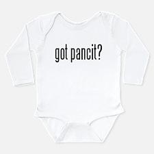 got pancit? Long Sleeve Infant Bodysuit