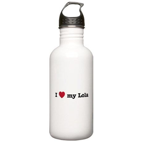 I Love My Lola Stainless Water Bottle 1.0L