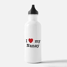 I Love My Nanay Water Bottle