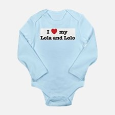Love Lolo and Lola - No Tag Long Sleeve Infant Bod