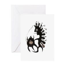 Inuit Art Greeting Card