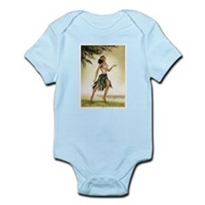 Hawaiian Dancer Infant Creeper