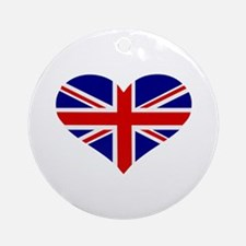 UK flag Ornament (Round)