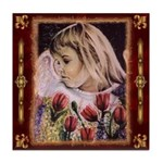 "Tile Coaster / ""Angel Shannan"""