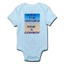 Save Horses Infant Creeper