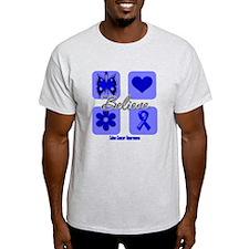Believe Colon Cancer T-Shirt