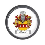Strozzi Family Crest Wall Clock