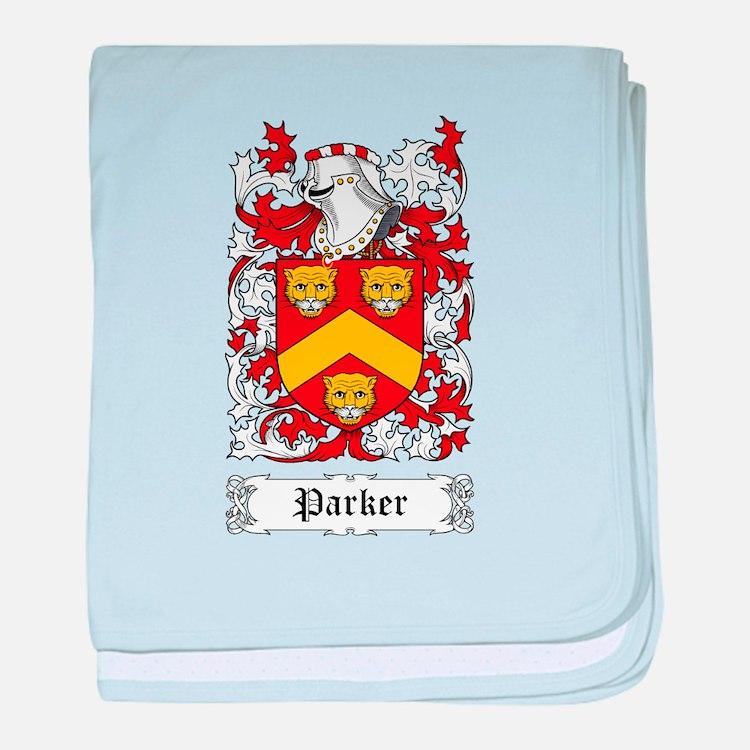 Parker I baby blanket