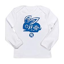 Year of Rabbit Long Sleeve Infant T-Shirt