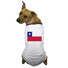Chile flag Dog T-Shirt