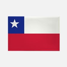 Chile flag Rectangle Magnet (10 pack)