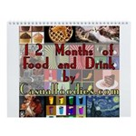 Food and Drink Wall Calendar