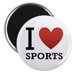 I Love Sports Magnet