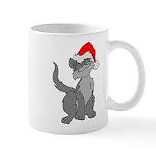 Christmas Santa Cat Mug