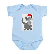 Christmas Santa Cat Infant Bodysuit