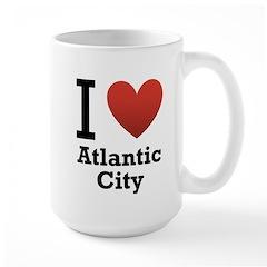 I Love Atlantic City Mug