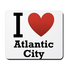 I Love Atlantic City Mousepad