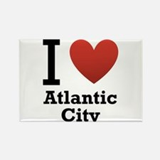 I Love Atlantic City Rectangle Magnet