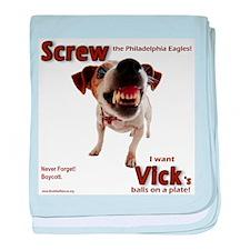 Screw Vick! baby blanket
