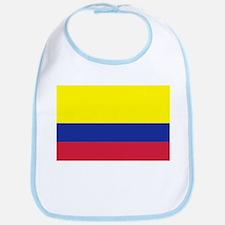 Colombia flag Bib
